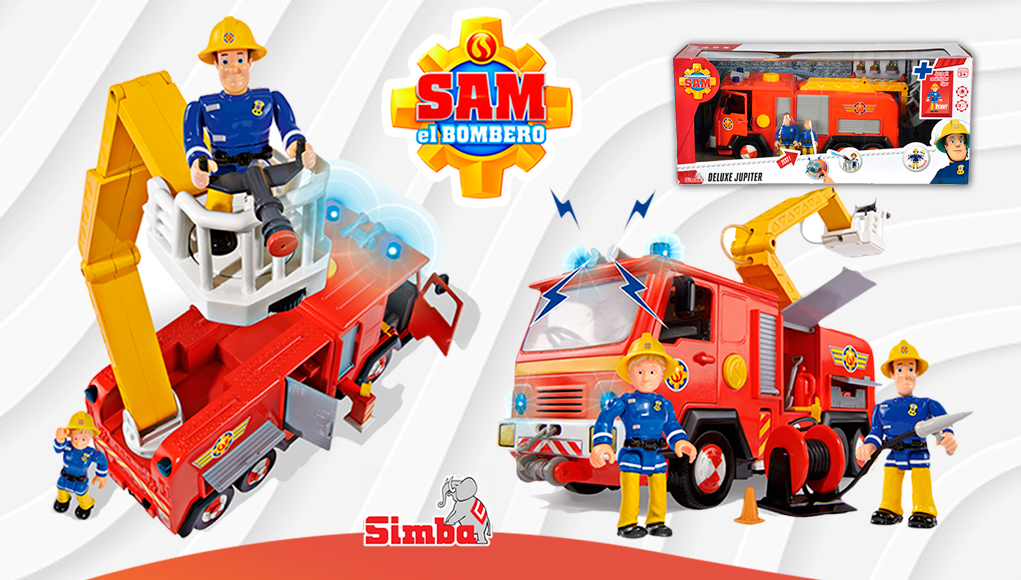 Camión Júpiter Sam El Bombero
