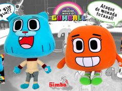 Peluches Gumball y Darwin