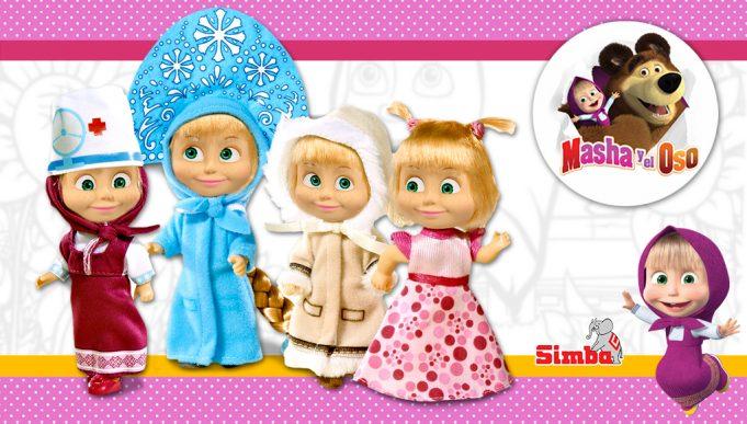 Muñeca Masha Disfraces