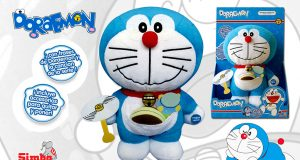 Peluche Parlanchín de Doraemon