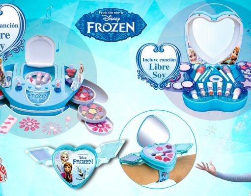 maquillaje Frozen