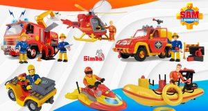 juguetes Sam El Bombero vehículos