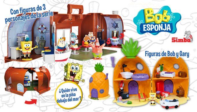 juguetes de Bob Esponja