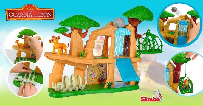 juguetes de La Guardia del León escenarios