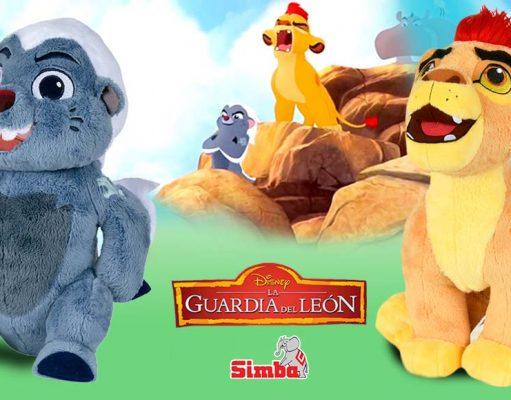 peluches de La Guardia del León