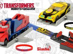 juguetes de Transformers lanzador