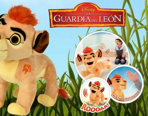 juguetes de La Guardia del León peluche interactivo