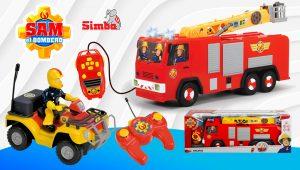vehículos RC Sam el Bombero