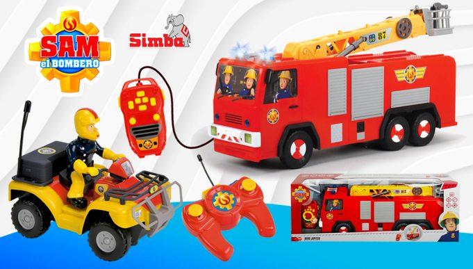 vehículos radiocontrol Sam el Bombero