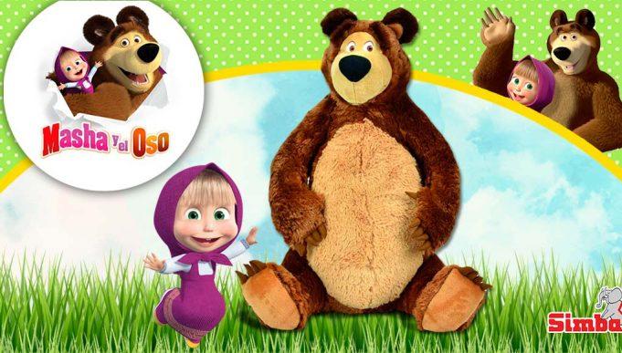 peluche oso Masha y el Oso