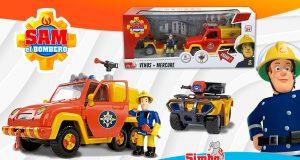 juguetes Sam el Bombero