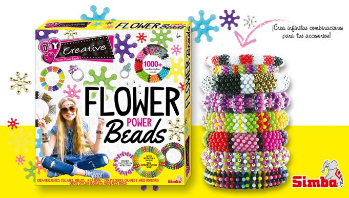 juguetes creativos Flower Power Beads