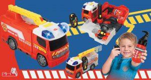 camión de bomberos de juguete