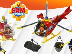juguetes Sam El Bombero helicóptero Wallaby