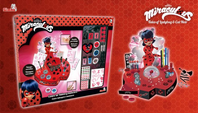 juguetes de Miraculous Ladybug Centro de Tattoos y Manicura