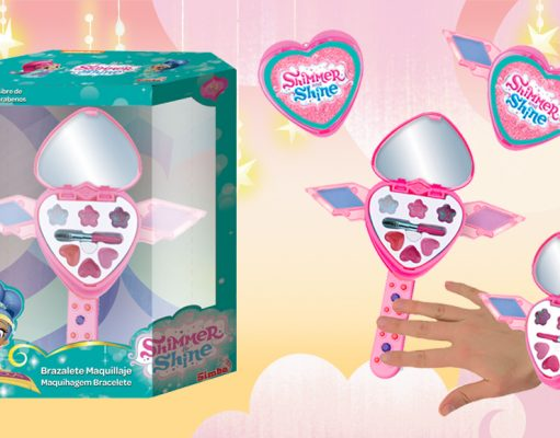 juguetes de Shimmer and Shine Brazalete Maquillaje