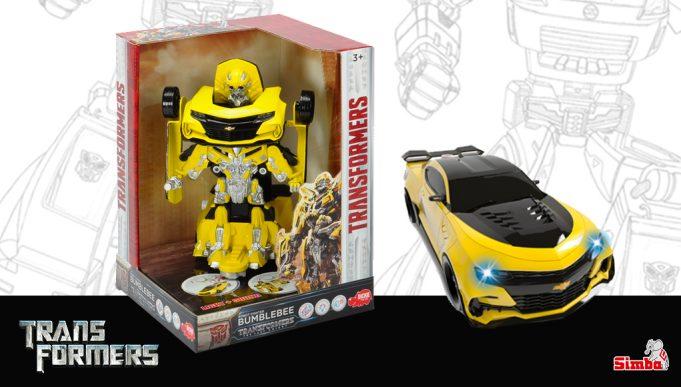 juguetes de Transformers robot Bumblebee 24 cm