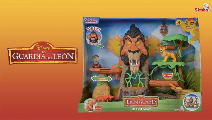 juguetes de La Guardia del León El resurgir de Scar