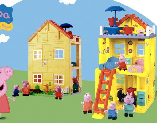 Juguetes de Peppa Pig: Casa de Construcción