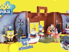 Juguetes de Bob Esponja: Crustáceo Crujiente