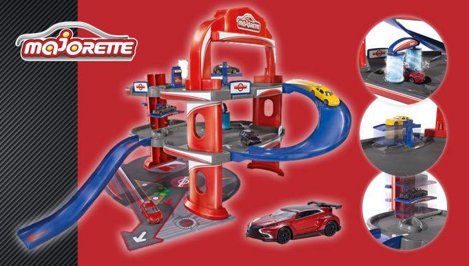Garaje de juguete