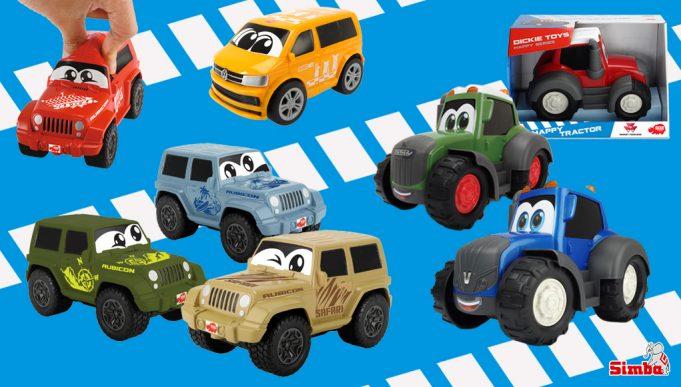 coches de juguete Happy Series