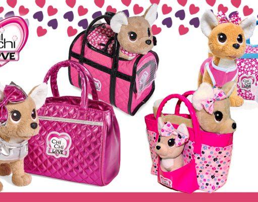 Chi Chi Love perrito de peluche con bolso colección