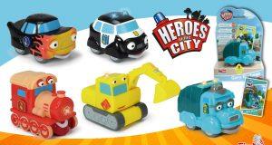juguetes de Paulie y Fiona personajes