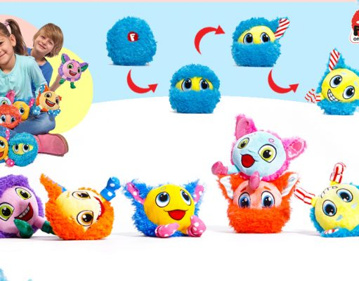 Peluches mini Furlocks