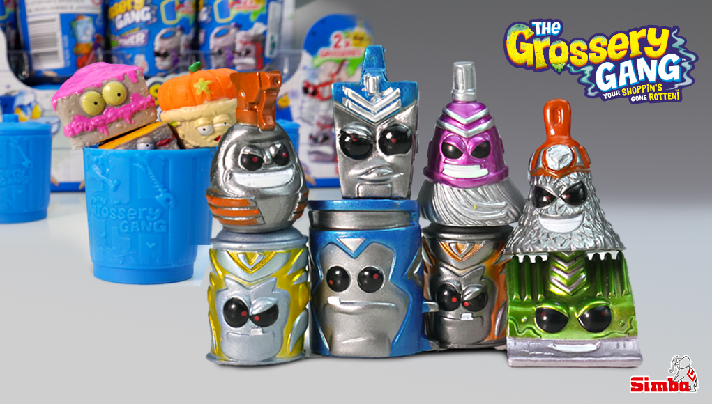 Figuras de The Grossery Gang