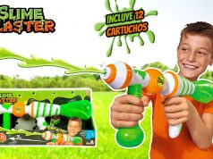 Juguete con slime - Slime bluster