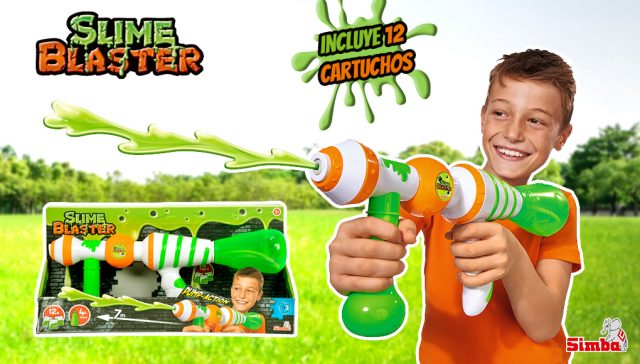 Juguete con slime - Slime blaster