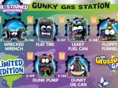 Figuras coleccionables de The Grossery Gang