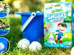Juego al aire libre: Glibbi Snoball