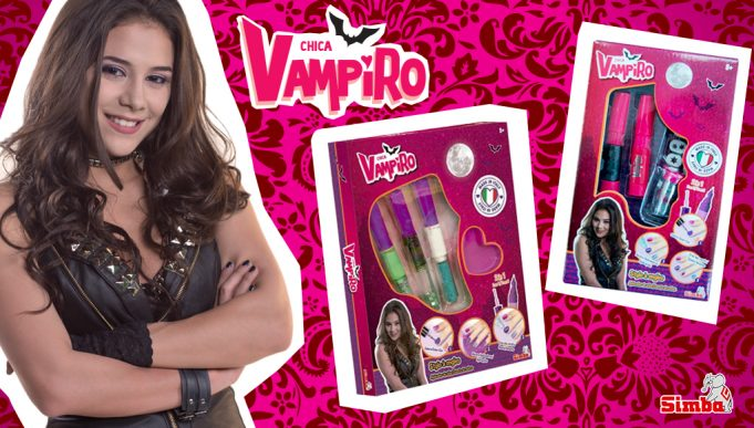 Juguetes de Chica Vampiro - Maquillaje Infantil