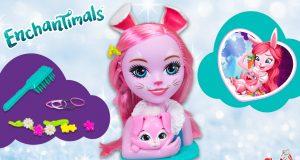 busto para peinar muñeca Enchantimals