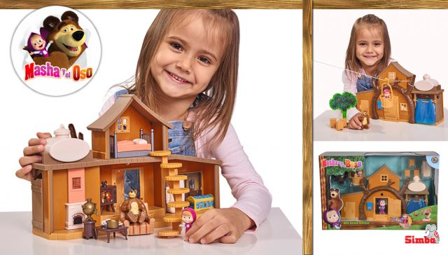 juguetes de Masha y el Oso Gran Casa del Oso