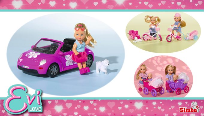 muñecas Evi Love