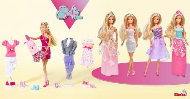 muñecas Steffi Love moda