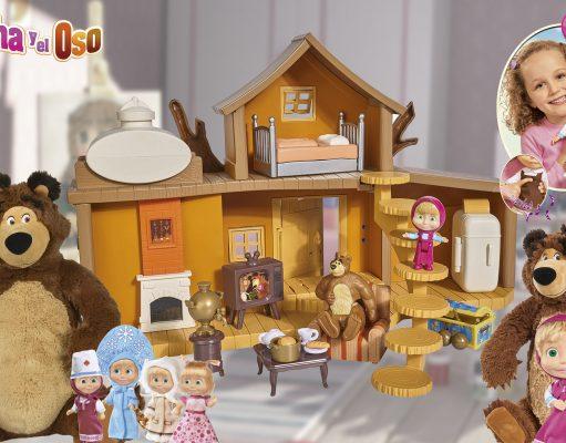 Juguetes para estas navidades de masha y el oso