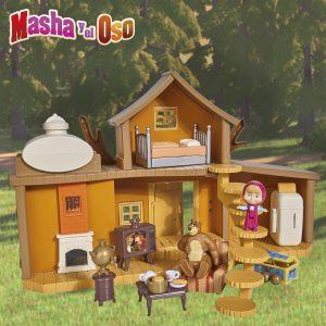 Gran casa del oso de masha y el oso