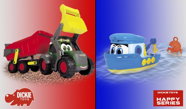 Tractor y Barco Remolque de Happy Series