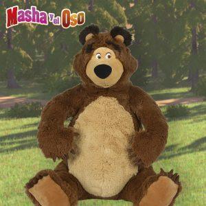 peluche de oso de masha y el oso