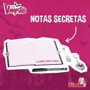 diarios de chica vampiro notas secretas de simba