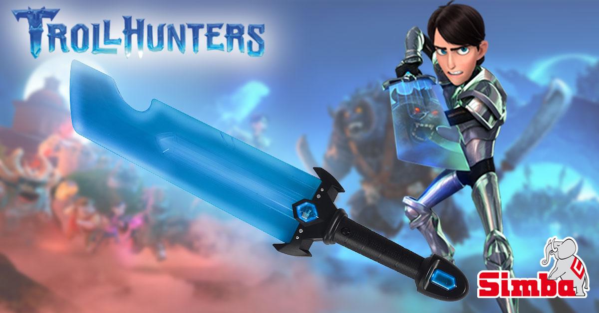 Espada El Simba Juguetes Con Poder La Trollhunters De Siente 1KJTl3cF