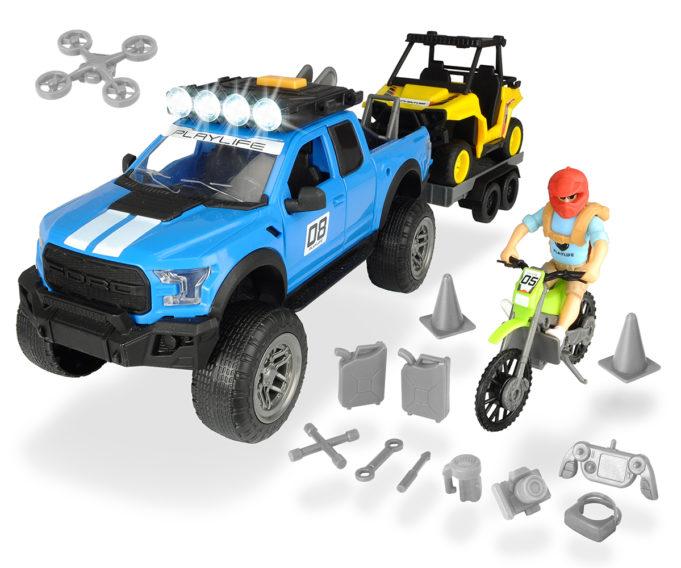 Set Todoterreno Ford Raptor XL Playlife Naturaleza