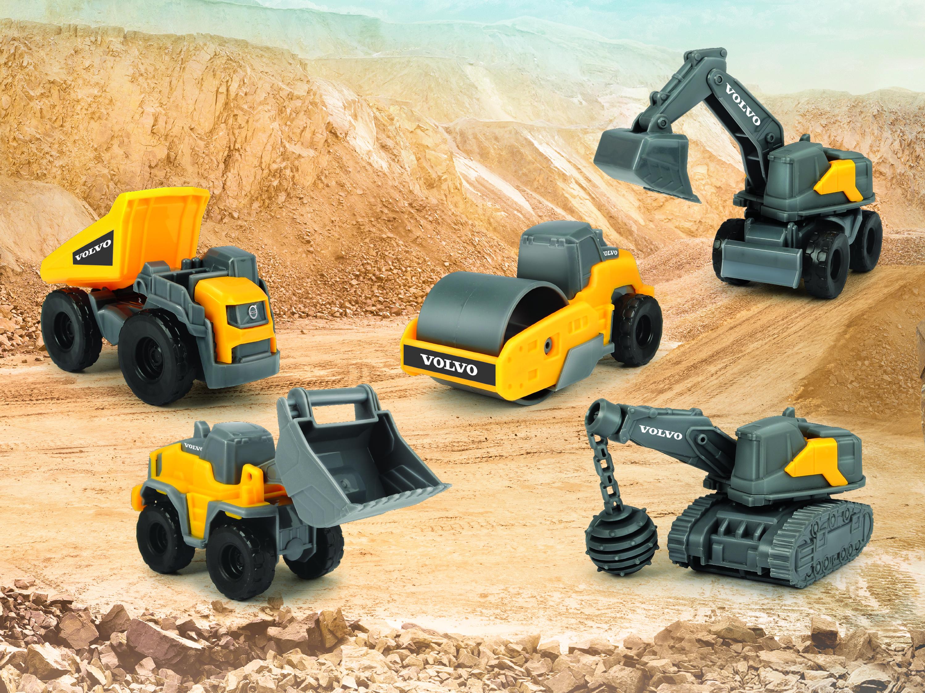 Vehículos Volvo de juguete