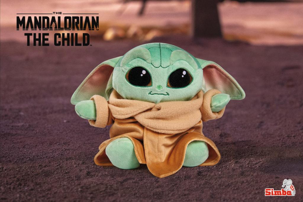 Baby Yoda peluches Disney