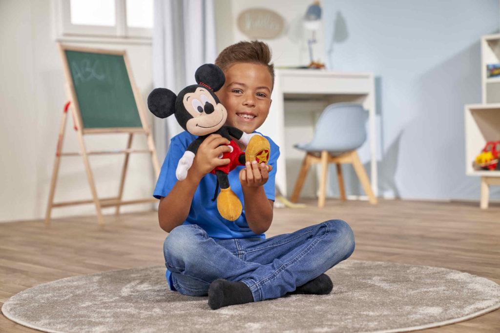 Mickey vintage 25 aniversario peluches Disney