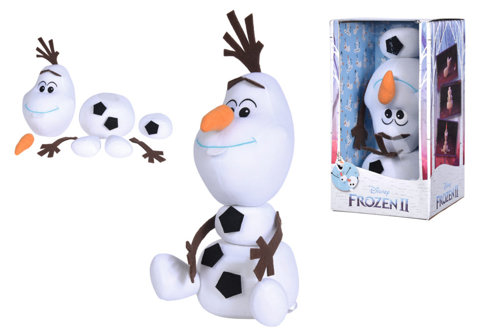 Olaf Velcro peluches Disney